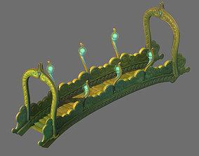 3D Game Model - Seabed - Seabed Golden Bridge
