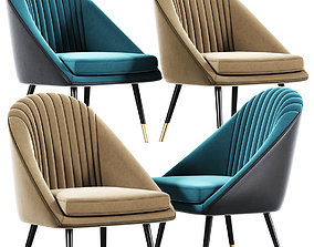 Cult Audrey Occasional Tub Lounge Strip Chair 3D model