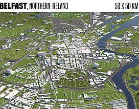 3D Belfast Northern Ireland