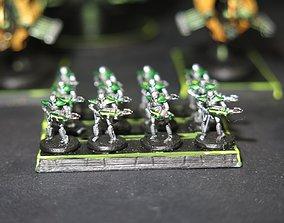 EPIC - ARMAGEDDON SET 24- XenoCyborg 3D print model 3