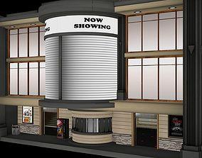 3D asset Cinema