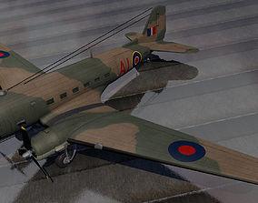 Douglas C-47 Dakota - RAF 3D