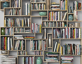 3D Book shelf 5