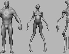 3D Character Forms