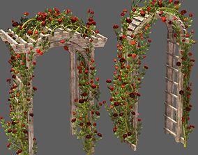 3D Rose Wreath