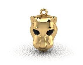 panther-jaguar-pendant 3D printable model