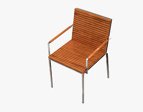 3D Garden Furniture Home Collection Arm Chair