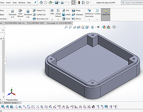 3D model Arduino Case - Parametric for any evaluation