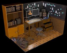 Old Office Pack 3D asset
