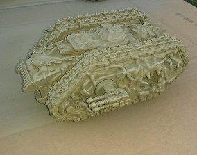 EPHIALTiS the corrupted Spartan tank 3D print model