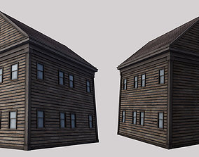 3D model VR / AR ready Boston House