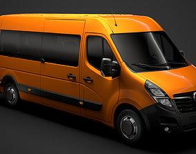 Opel Movano L3H2 Minibus 2020 3D