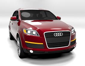 AUDI Q7 2007 LOWPOLY 3D model
