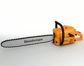 3D asset Chainsaw
