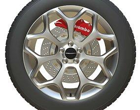 Chrysler wheel 3D
