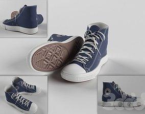 3D model realtime sneakers