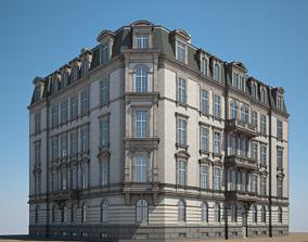 exterior 3D City Building 04