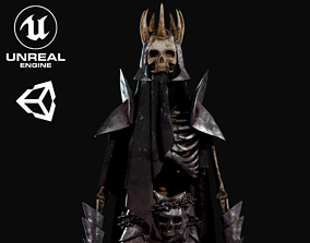Skeleton Warlord - Game Ready 3D model rigged