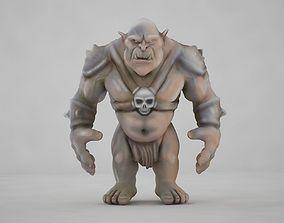 Troll Creature 3D asset