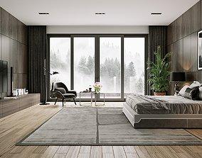 3D model Bedroom-001