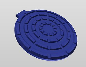 3D printable model QI WIRELESS CHARGER STYLE 6