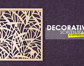 Decorative 3D Panel-Screen 5 Sizes