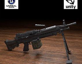 M249 Squad Automatic Weapon 3D asset