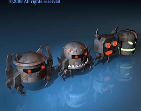 Strange robots 3D model