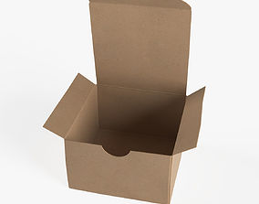 paper Cardboard box 3D model