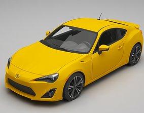 3D model Toyota GT86