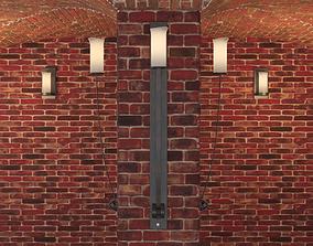 Robers Leuchten lamp and cellar room 3D model