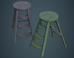 3D model Step Ladder 2C