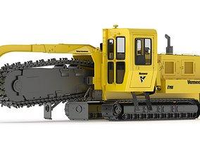 3D model Vermeer T755III Pipeline Trencher