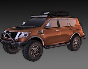 3D asset Nissan Armada Off-road Build
