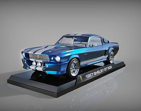 3D Ford Shelby Mustang GT500