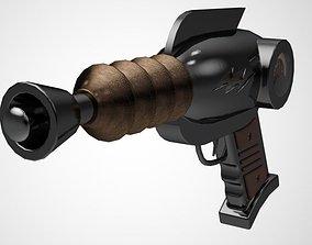3D SciFi Retro Ray Gun