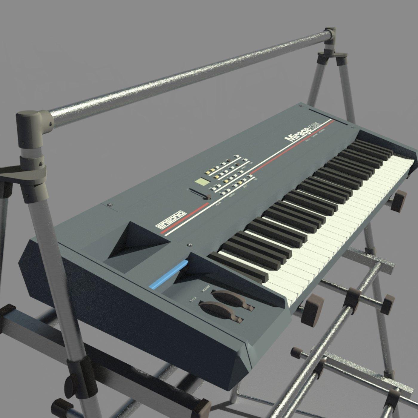 Mirage DSK Keyboard
