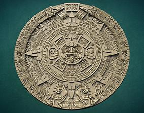 Aztec calendar 3D print model