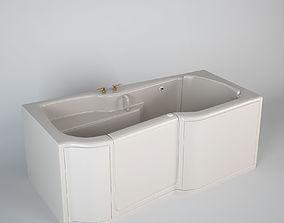 3D Kohler Bathtub For Disabled