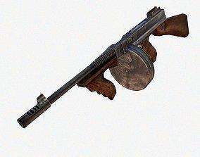 3D model Thompson M1927 Submachine Gun