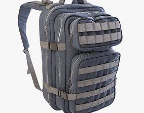 3D model camping Backpack