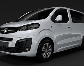 3D Vauxhall Zafira Life L1 2019
