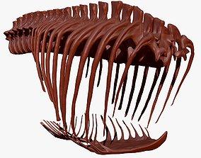 3D model Giganotosaurus Rib Set Skeletons