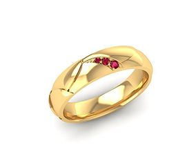 853 Diamond Ring 3D print model