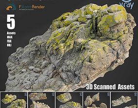 Cliff pack D bundle 3D model