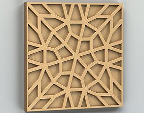 3D model Wall panel 025