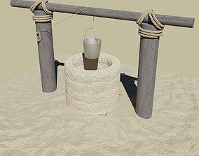 3D asset Desert well