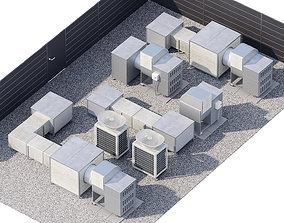 HVAC Roof Technologies 3D model