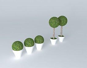 3D garnish topiary topiary