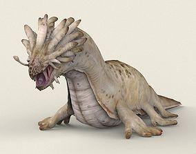 3D model Game Ready Sea Monster